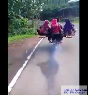 Incredible! Everyone is Talking About this Motorcycle that Can Comfortably Carry 8 People All at Once (Video)